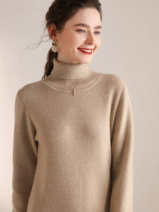 Chicly Loose-fit Sweater Dress