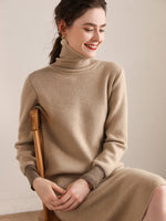 Lade das Bild in den Galerie-Viewer, Chicly Loose-fit Sweater Dress