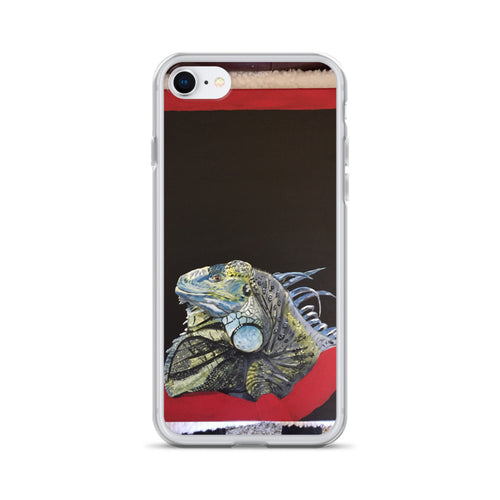 iPhone Case -Quinn:Lizard, Shelter: Center Valley Animal Rescue. Artist: Claudia DeCasas
