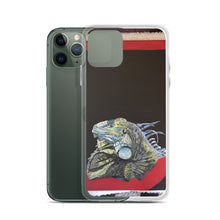 Load image into Gallery viewer, iPhone Case -Quinn:Lizard, Shelter: Center Valley Animal Rescue. Artist: Claudia DeCasas