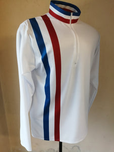 Retro Cycling Top Made in the UK