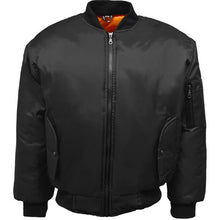 Load image into Gallery viewer, Mens Classic MA1 Bomber Jacket