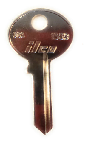 Ilco 1559 Security Mailbox Key Blanks Bag of 10