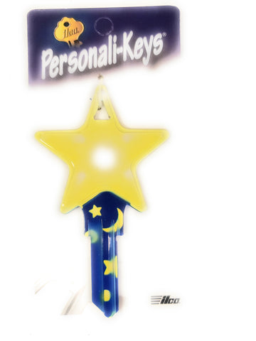 Ilco Personali-Keys Star House Key Blank