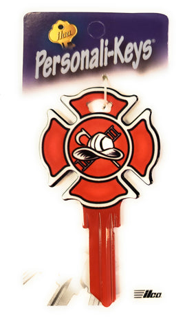 Ilco Personali-Keys Fire Department House Key Blank