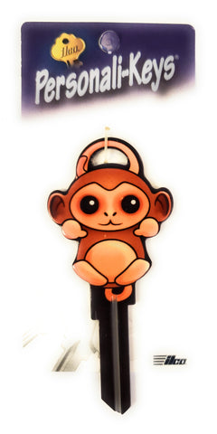 Ilco Personali-Keys Monkey House Key Blank