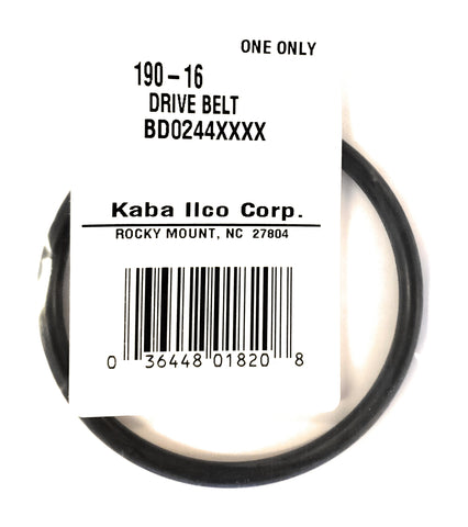 Ilco 190-16 008 Key Machine Drive Belt