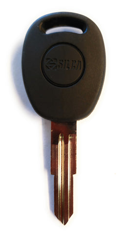 Ilco DW04CT6 GM Chevrolet Spark Transponder Key Blank