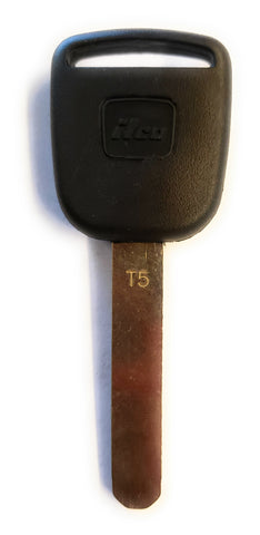 Ilco HO01T5 Honda CRV High Security Transponder Key Blank