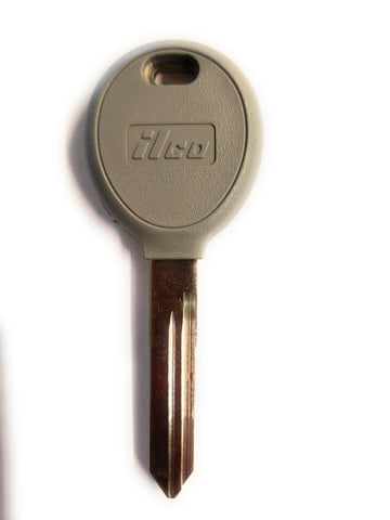 Ilco Y165-PT Chrysler Dodge Transponder Key Blank