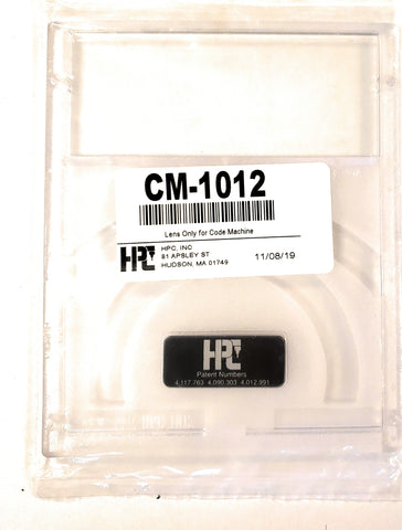 HPC CM-1012 1200 Key Code Machine Replacement Lens