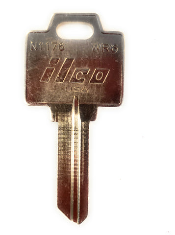 Ilco N1176 Weiser WR6 Key Blank Bag of 10