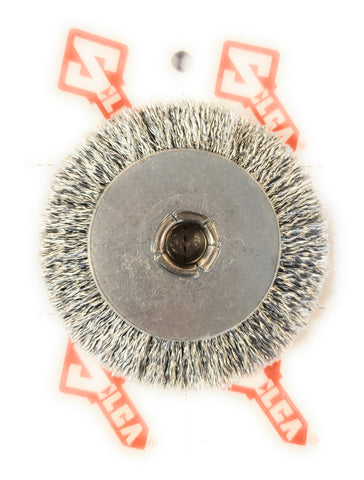 "Ilco Silca D301267ZZ 3"" Bravo Key Machine Steel Brush Wheel"