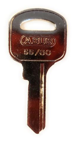 Abus 55/60KB Padlock Key Blanks Bag of 10
