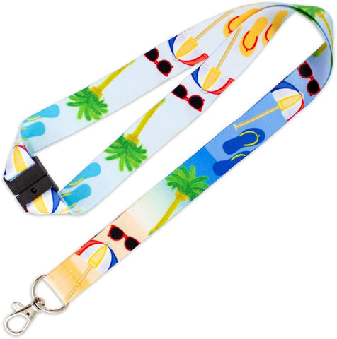 Lucky Line C201 Beach Design Neck Lanyard