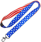 Lucky Line C206 Patriotic Design Neck Lanyard