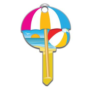 Lucky Line B113 Key Shapes Beach Key Blank