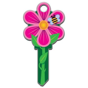 Lucky Line B106 Key Shapes Flower Key Blank