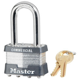 "Master 21KZLFW1 1 3/4"" Wide Rekeyable Padlock"