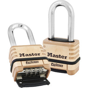 "Master 1175DLH Pro Series 2 1/4"" Wide Resettable Combination Padlock"