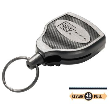"Lucky Line 43651 Key Bak 48"" Retractable Cord Key Reel"