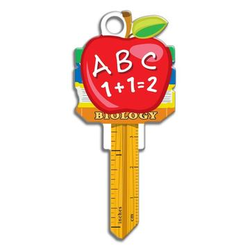 Lucky Line B131 Key Shapes Teacher Key Blank