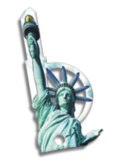 ESP Krafty Keys Statue of Liberty Key Blank