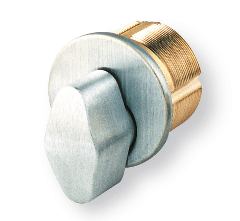 "GMS M100T 1"" Thumb Turn Mortise Cylinder"