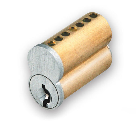 GMS IC7T26D 7 Pin T Series Small Format Interchangeable Core Lock Cylinder