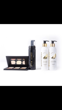 EffinHair contour and medium to dark Tanning Care kit SALE