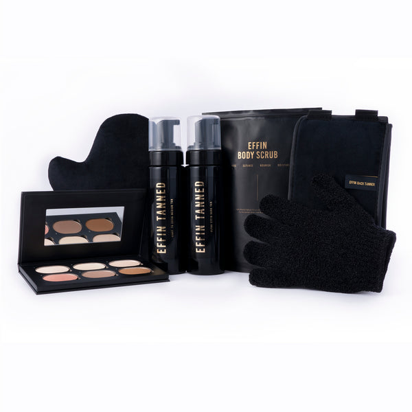 The Ultimate Bundle - with Effin Light to Medium + Ultra Effin Dark Tans