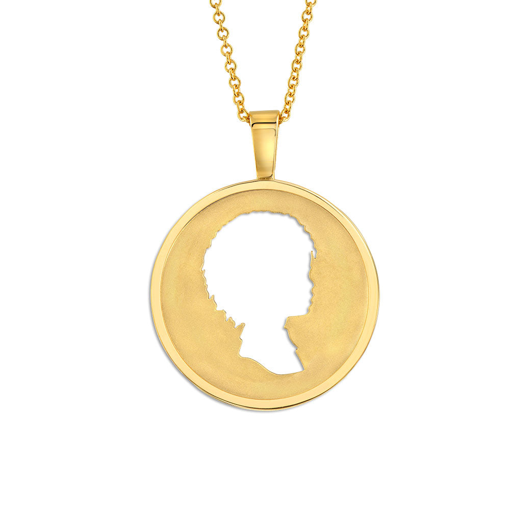 18K YELLOW GOLD COIN