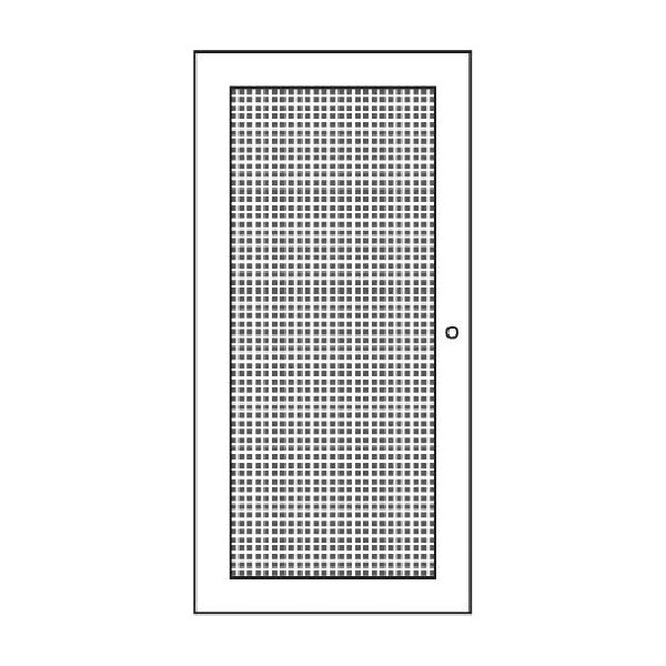 Door Rattan Large (Natural Rattan) - H67 x W33