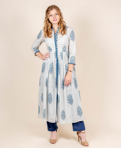 Pure Cotton Kurti With Pants