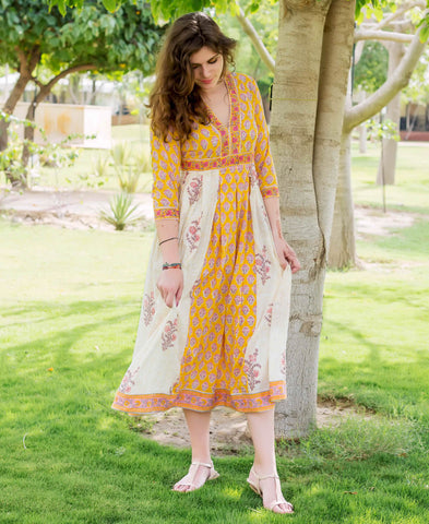 Long Kurti Without Pants