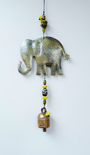 Elephant Beads & Bell Chime