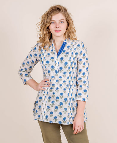 100% Cotton Block Printed Tunic