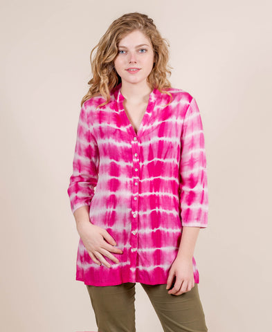100% Cotton Tie Dye Tunic
