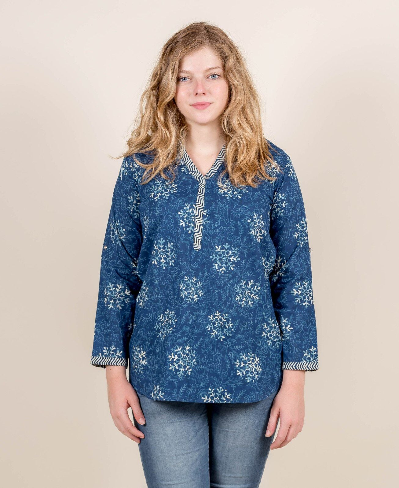 Hand Block Print Cotton Tunic