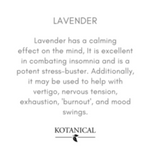 Load image into Gallery viewer, Kotanical Lavender Essential Oil -Everyday Essentials