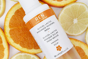Ren Clean Skincare - Glycol Lactic Radiance Renewal Mask  skin care products ireland- Everyday Essentials
