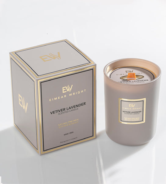 EIMEAR WRIGHT - VETIVER LAVENDER SCENTED CANDLE - Everyday Essentials