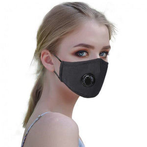 Pack of 6-Mix Of Pink and Black Reusable/Washable Masks