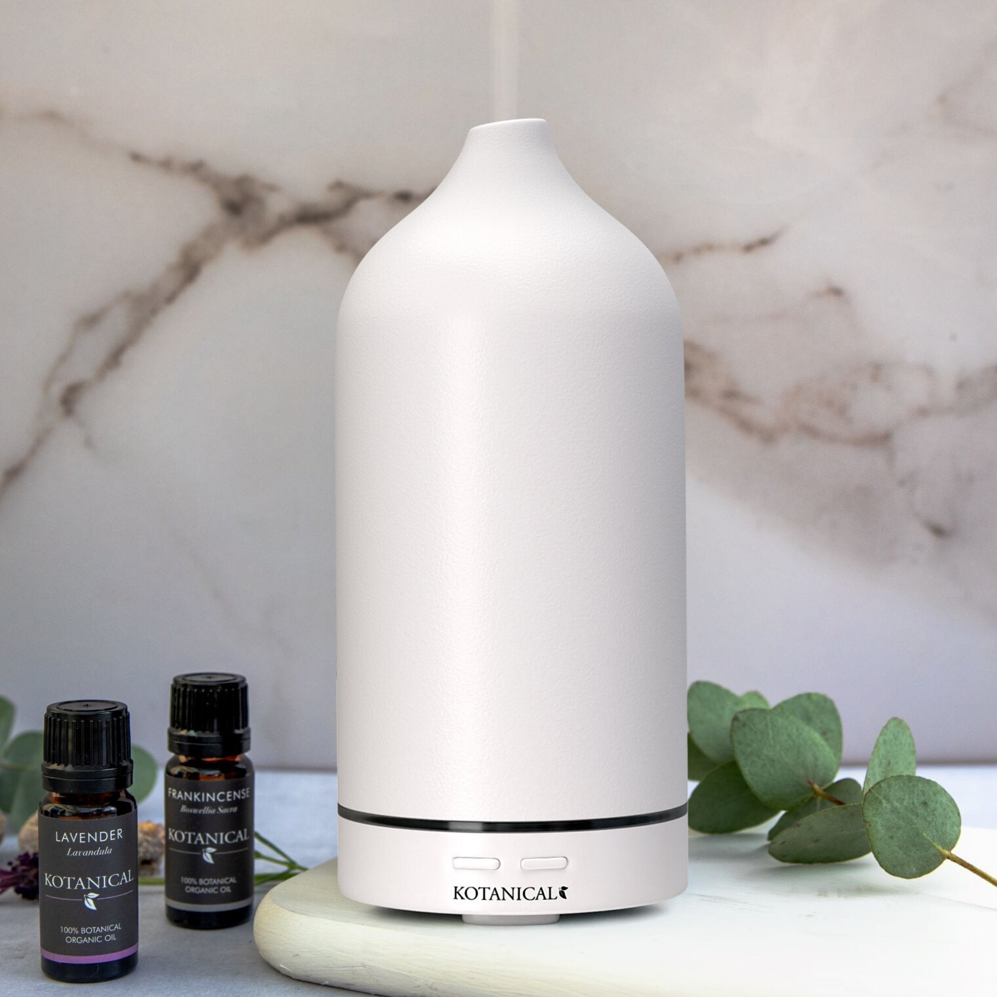 Kotanical White Stone Oil Diffuser - Everyday Essentials  Edit alt text