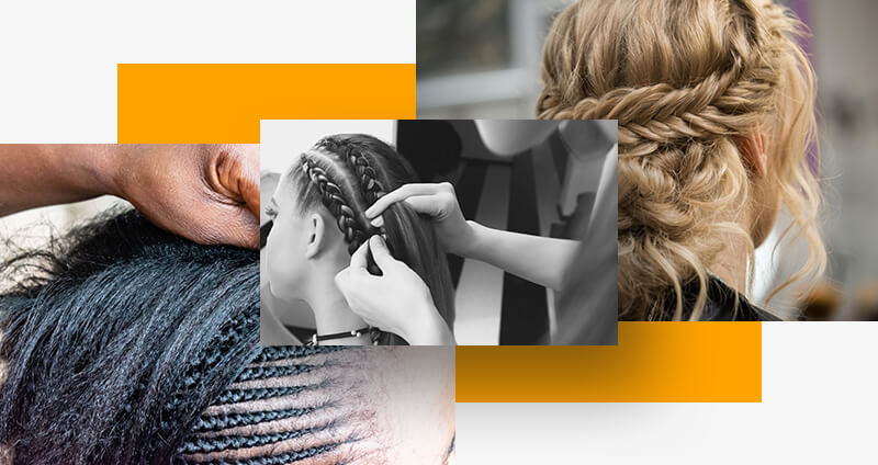 Hairstyling mistakes - braiding