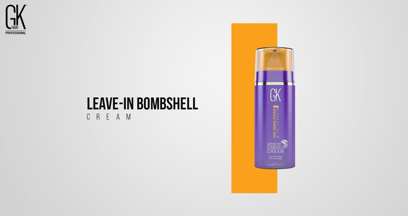 Leave-In Bombshell Cream For Healthy Blonde Hair