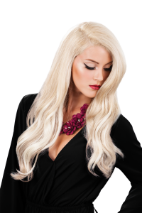 Hair Volume, GKhair, Switch Your part, Model, Blonde