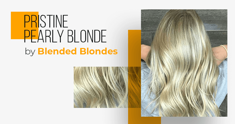 Popular Hair Colors - Pristine Pearly Blonde