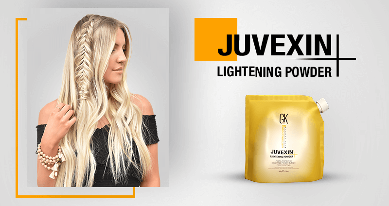 GKhair Professional Products New Formulations - Juvexin Lightening Powder+