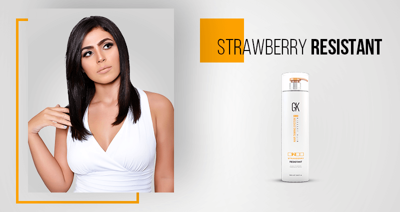 GKhair Professional Products New Formulations - Strawberry Resistant